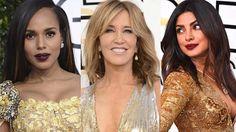 Kerry Washington, Felicity Huffman ja Priyanka Chopra juhlivat Golden Globe -gaalassa avoimin hiuksin.