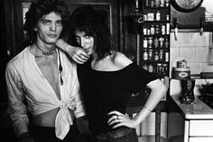 Robert & Patti II, Robert Mapplethorpe & Patti Smith, New York, NY, 1969 Archival Pigment Photograph 28 × 41 1/2 in 71.1 × 105.4 cm Norman Seef