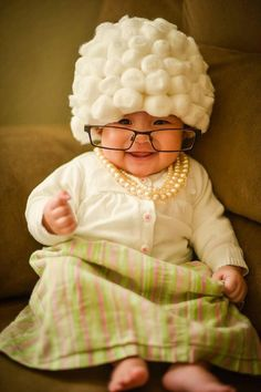 Halloween Costume Ideas - 9 Unbelievably Adorable Photos of Kids Dressed as Old People. Kids are cute in just about any outfit you put them in, but they're arguably cuter when dressed as old people. Head to redbookmag.com to see more pictures of kids dressed up that will melt your heart.