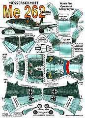 Messerschmitt-Me262 - Kaufpreis 7,50 $