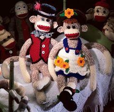 Leisure Arts - Crocheted Sock Monkey Patterns ePattern,(http://www.leisurearts.com/products/crocheted-sock-monkey-patterns-digital-download.html)