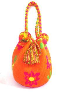 Wayuu Mochila Handbag Short Handel