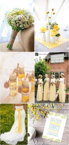 moodboard-mariage-jaune-yellow-wedding-2 Plus