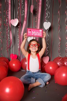 Valentine Days Kids Photo Shoot..... www.devonmariephotography.com