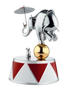 Boîte à musique Ballerina / Circus - Edition limitée numérotée Multicolore - Alessi - Décoration et mobilier design avec Made in Design