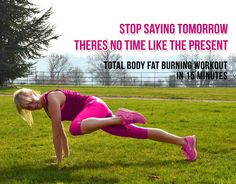 Total Body Fat Burning Workout in 15 Minutes