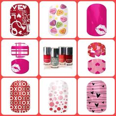 Valentine's Day nails!! Love love love Jamberry!!