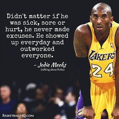 of basketball drills, basketball plays, and basketball workouts all in video and text format. Also expert basketball coaching articles for all levels Kobe Quotes, Kobe Bryant Quotes, Quotes Quotes, Kobe Bryant Family, Kobe Bryant Nba, Basketball Workouts, Basketball Quotes, Basketball Players, Player Quotes