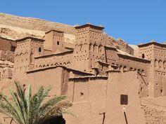 mud buildings morocco