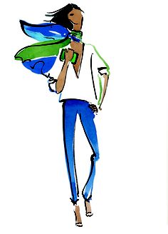 from Ann Taylor illustrated