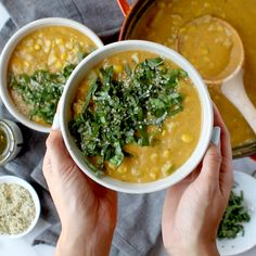 Chipotle Corn Chowder :: creamy, just a little spicy, and chock-full of summer produce like corn, zucchini, and basil. Soup Recipes, Vegan Recipes, Cooking Recipes, Vegetarian Recipes Videos, Chard Recipes, Vegan Soups, Vegan Dishes, Corn Soup, Potato Corn Chowder