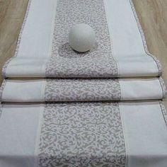 dekoračný  obrus, stredový behúň, dlhý obrus v prírodných farbách Table Runners