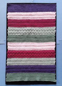 hækleopskrift på gæstehåndklæde billede af gæstehåndklæde