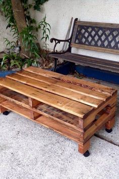 3103 Best Pallet Table Plans Images In 2019