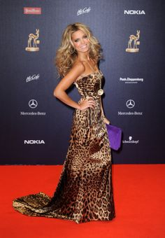 LOVE this leopard look - Sylvie Meis