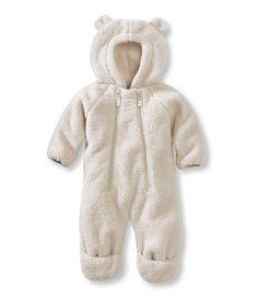 6c79ec0de7 Infants  Hi-Loft Fleece Coveralls at L.L.Bean - With an irresistibly cute  animal