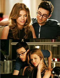 Max and Naomi. Beauty meets Geek. Seriously one of my fave relationships on the show. <3