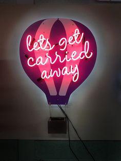 A Custom Neon Sign made by www.jantecneon.com. #balloon #balloonart #balloondecor #decor #explore #freedom #neon #neonsign #neonsigns #jantecneon #pink #neonlights  _ www.jantecneon.com