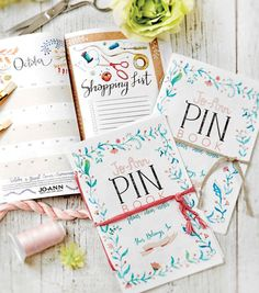 free download: The PIN Book Monthly Planner