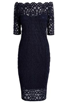 Short Sleeve Lace Bodycon Dress from Next