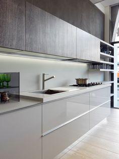 Nice 48 Best Modern Kitchen Cabinets Design Decoration Ideas. More at https://trendhomy.com/2018/03/12/48-best-modern-kitchen-cabinets-design-decoration-ideas/