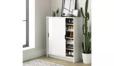 Buy Argos Home Chloe Sliding Door Shoe Cabinet   Shoe storage   Argos