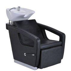 Awesome shampoo chair that adjusts Salon Shampoo Brands, Shampoo Bowls Salon, Shampoo Chair, At Home Salon Station, Salon Stations, Salon Furniture For Sale, Salon Sink, Hair Salon Chairs, Beauty Salon Decor