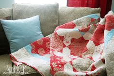 Red Velvet Quilt by Camille Roskelley
