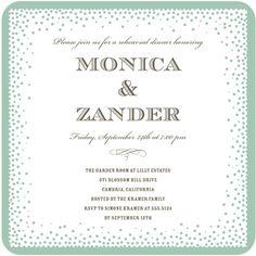 Lively Glamour - Signature White Textured Rehearsal Dinner Invitati - Jenny Romanski - Dijon - Neutral : Front