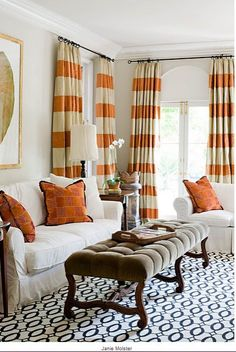 Best Drapes For Living Room Most Popular Furniture 209 Curtains Images In 2019 Colorful Coloured Design District Elegant Orange Livingroom Curtain Designs Stripe Bold Beige