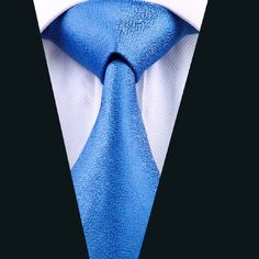 DN-1110 mens ties silk tie Blue necktie wedding single neckwear party business