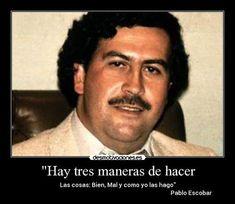 frases de Pablo Escobar - YouTube  Pablo Escobar Frases