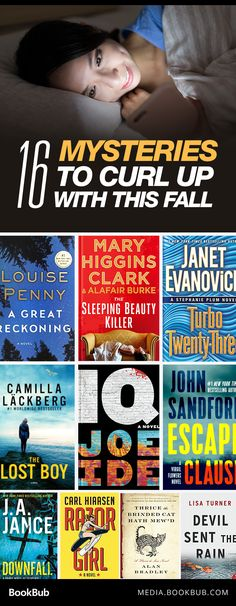 16 must-read mysteries to curl up with this fall.