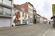 Strook Creates Colorful Street Murals with Recycled Wood,Wood & Paint. Image © www.strook.eu