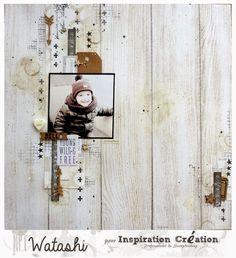 Inspiration Création Blog: Studio Tekturek mon amour et les nouveaux tampons kaiser Craft! {by Watashi}