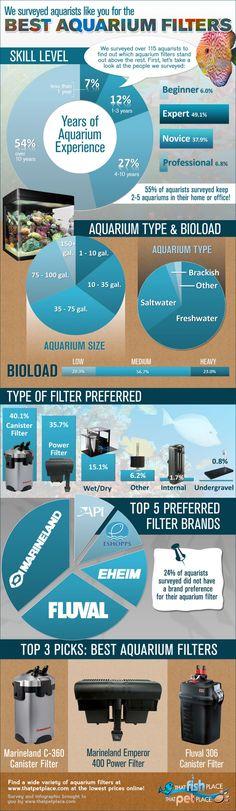 Best Aquarium Filters Infographic