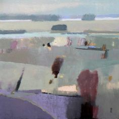 "Malcolm Ashman, ""Copse, Oil"", 54 x 54 cm, £1,800"
