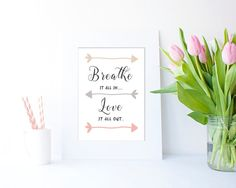 Breathe JPEG in 4 sizes by Clickatoos on Etsy