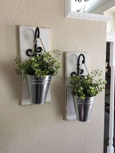 Etsy Farmhouse Wall Decor, Galvanized Metal Decor, Metal Wall Decor, Sconce with Flowers, Country Wall De Mason Jar Sconce, Hanging Mason Jars, Hanging Planters, Diy Hanging, Country Wall Decor, Farmhouse Wall Decor, Rustic Decor, Rustic Farmhouse, Greenery Decor