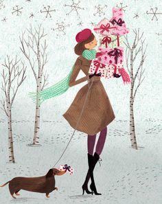 Mollie Makes - Emma Block Illustration