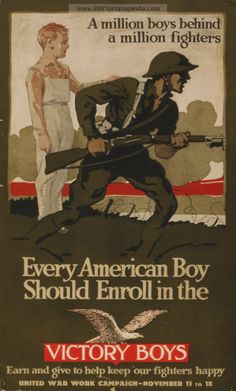 Examples of Propaganda from WW1 | American WW1 Propaganda Posters Page 22