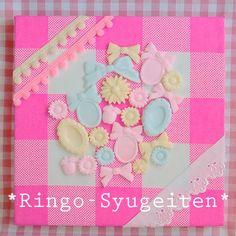 ♪林檎手芸店オリジナル♪♥乙女なモチーフをあつめました♥●サイズ*18x18cmhttp://ringo-syugeiten.sh...|ハンドメイド、手作り、手仕事品の通販・販売・購入ならCreema。