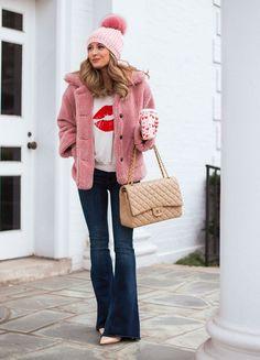 7574071412b Lip Sweaters   Pink Teddy Bear Coats (pardon muah)