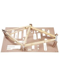 Bamboobee Build It Yourself Bike Frame kit is an innovative way of build your own bike. This is the first model design for bamboo bike frame kit lovers.