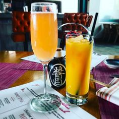 Just sat down to enjoy #bottomlessbrunch at @sumo_maya in #scottsdale This #foodie is ready for a great brunch. Have my #mimosa. Let the fun begin. #wanderwithwonder #gnomads
