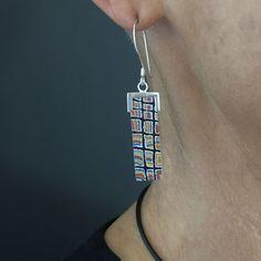 yumari-Australian-earrings Australian Art, Indigenous Art, Sterling Silver Earrings, Jewelry Design, Pendant Necklace, Drop Necklace
