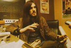 Lemmy during his brief time with Hawkwind