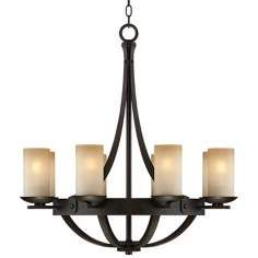Medium: 23 - 30 In. Wide, Arts And Crafts - Mission Chandeliers By LampsPlus.com