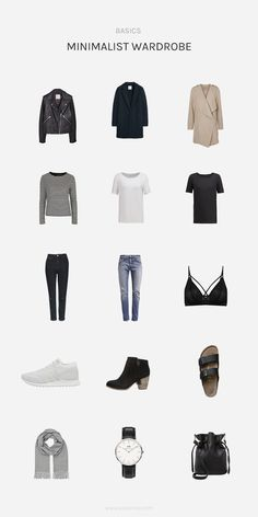 @aesencecom Minimal Capsule Wardrobe Ω