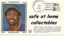 """NY METS MOOKIE WILSON 1ST DAY ISSUE CACHET """"NICE"""""""